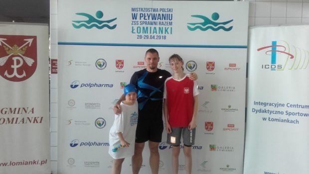Gabrysia Michałowska okazała się bezkonkurencyjna na basenie w Łomiankach podczas Mistrzostw Polski w pływaniu osób z niepełnosprawnością intelektualną. Na dystansach 50 i 100 m stylem dowolnym w kategorii do 17 […]